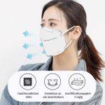 Mund- und Nasenmaske mit verstellbarem Nasenclip – BaabooShop