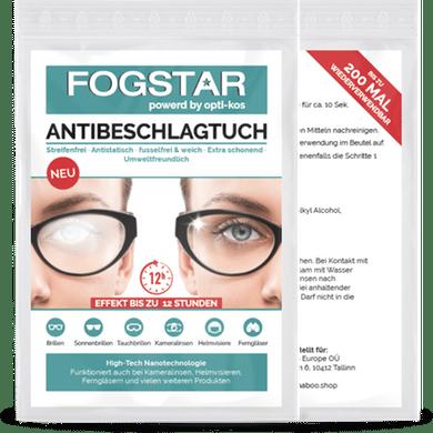 Fogstar Antibeschlagtuch für Brillen