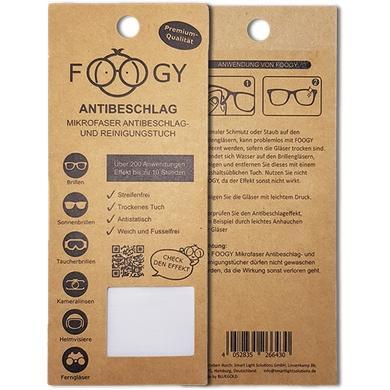 Foogy Antibeschlagtuch für Brillen